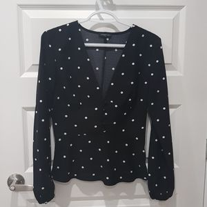 Cute polkadot blouse